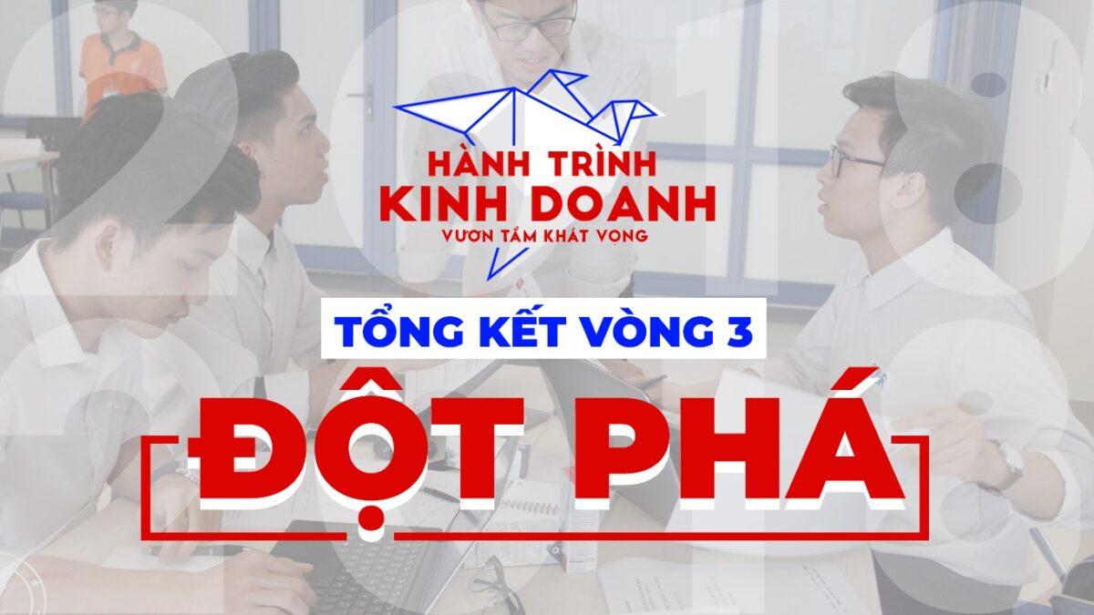 """""""HÀNH TRÌNH KINH DOANH"""" TỔNG KẾT VÒNG 3: ĐỘT PHÁ"""