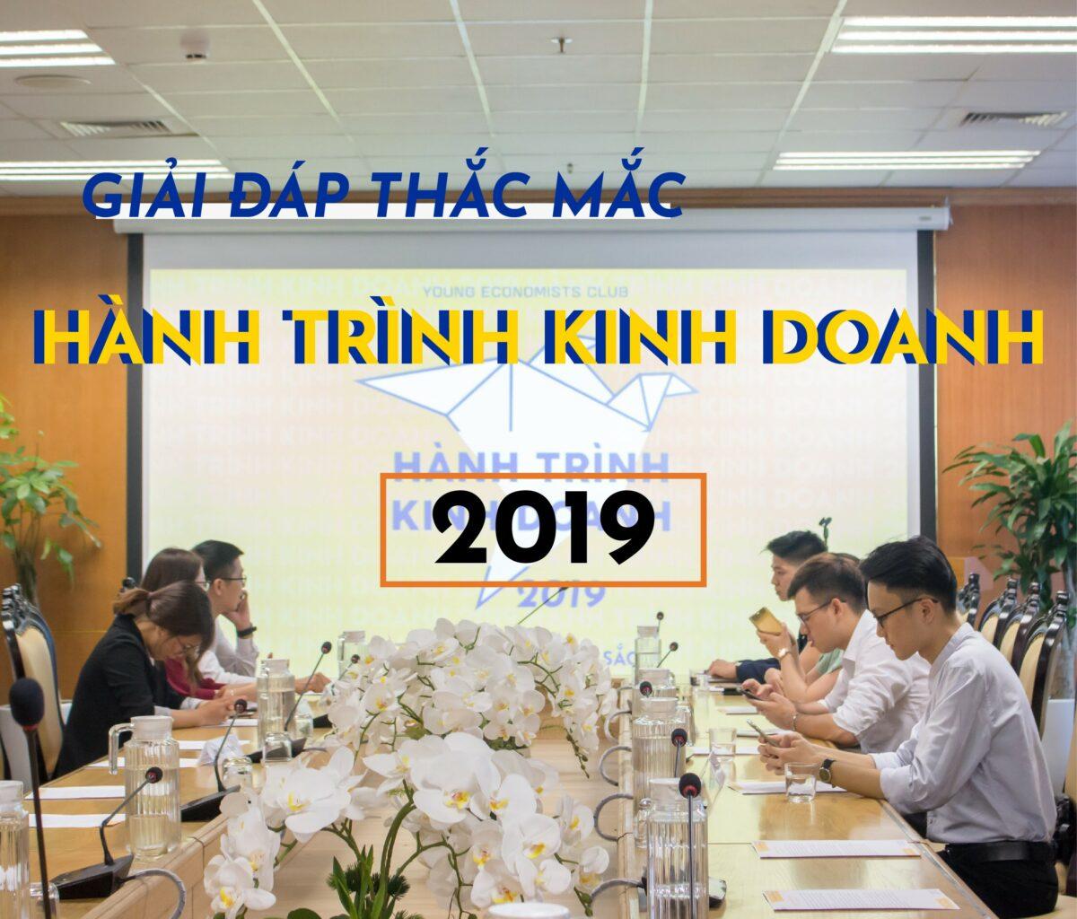 """GIẢI ĐÁP THẮC MẮC """"HÀNH TRÌNH KINH DOANH 2019"""": KHƠI NGUỒN BẢN SẮC"""