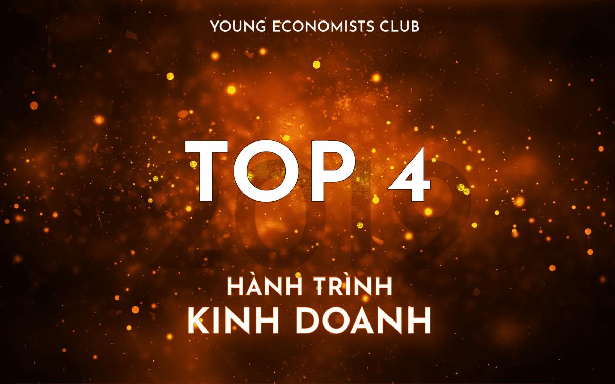 HÀNH TRÌNH KINH DOANH 2019: CÔNG BỐ TOP 4 ẤN TƯỢNG
