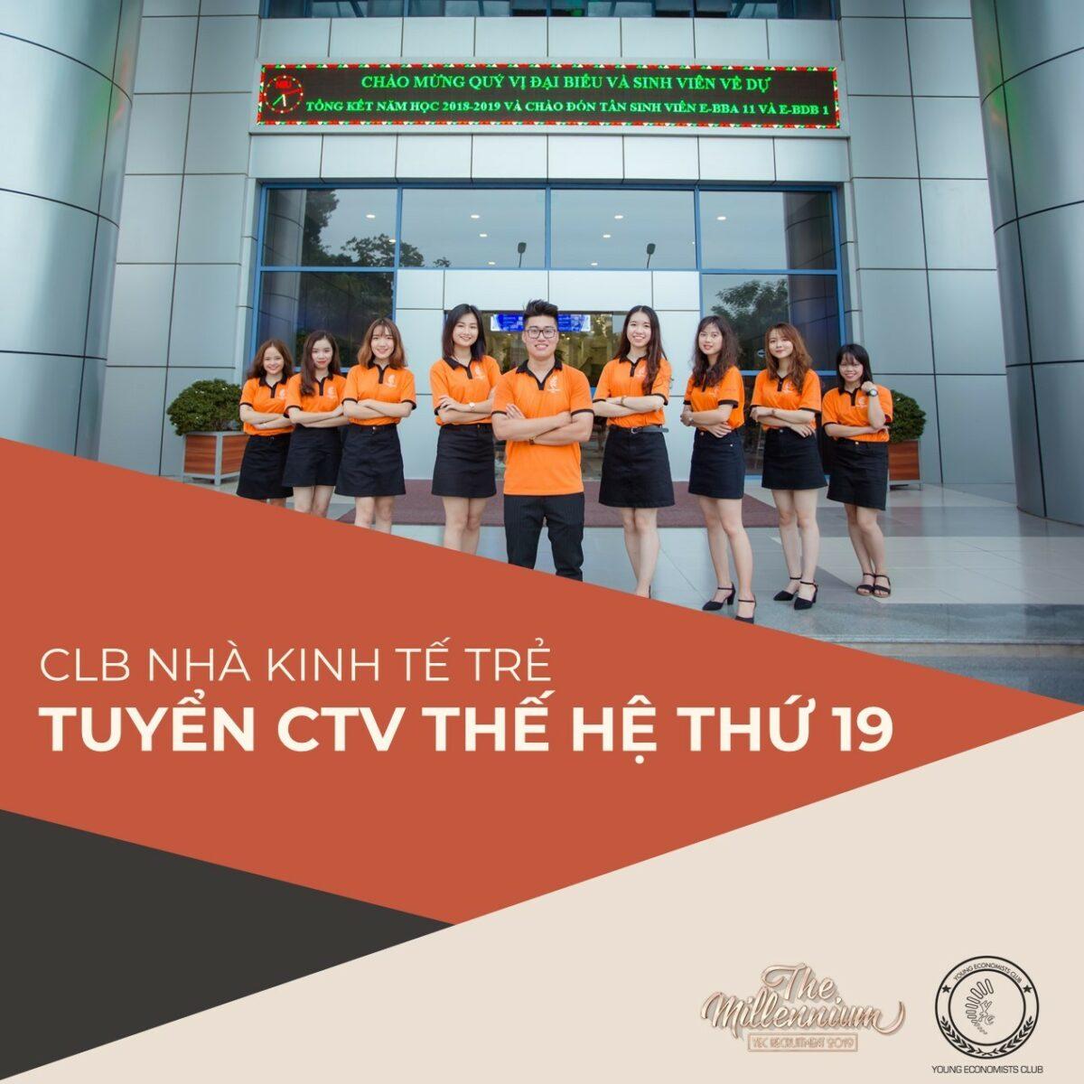 CLB Nhà kinh tế trẻ YEC phát động Kỳ tuyển dụng CTV thế hệ 19